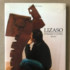 Libros de segunda mano: LIZASO. EL SÍMBOLO Y LA OBRA IKURRA. DARBY LOUISE AKADEMIA SERIES. 1ª EDICIÓN 2003.. Lote 211491215
