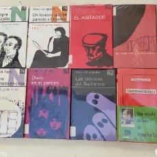 Libros de segunda mano: LOTE 46 LIBROS COLECCIÓN ÁNCORA Y DELFÍN AÑOS 60. Lote 211643049