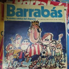 Libros de segunda mano: LA REVISTA SATÍRICA DEL DEPORTE BARRABÁS Nº 35, 29 DE MAYO 1973. BA-30. Lote 211676518
