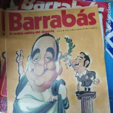 Libros de segunda mano: LA REVISTA SATÍRICA DEL DEPORTE BARRABÁS Nº 34, 22 MAYO 1973. BA-31. Lote 211676744