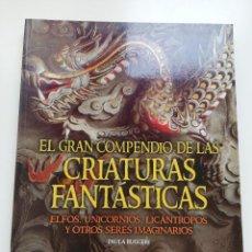 Libros de segunda mano: EL GRAN COMPENDIO DE LAS CRIATURAS FANTÁSTICAS. ELFOS, UNICORNIOS, LICÁNTROPOS Y (PAULA RUGGERI). Lote 239758875