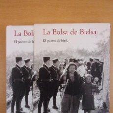 Libros de segunda mano: LA BOLSA DE BIELSA. EL PUERTO DE HIELO / CONTIENE LIBRO Y CD. Lote 211772760