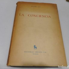 Libros de segunda mano: HENRI EY LA CONCIENCIA Q1946T. Lote 211777260