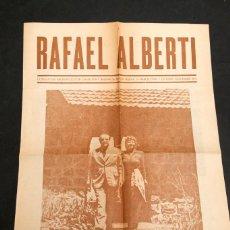 Libros de segunda mano: RAFAEL ALBERTI - GLORIAS DE ESPAÑA - 1970 - CAC. Lote 211888731