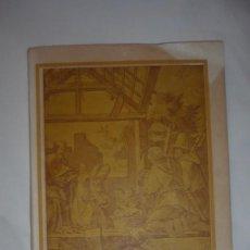 Libros de segunda mano: COMO SE CONSTRUYE UN NACIMIENTO; DE JUAN PÉREZ CUADRADO-SEGUNDA EDICIÓN; AÑO 1943. Lote 211910942
