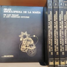 Livres d'occasion: GRAN ENCICLOPEDIA DE LA MAGIA DE LAS PARAS A LAS CIENCIAS OCULTAS. KAYDEDA. 6 TOMOS.UNALI S.L.. Lote 117280292