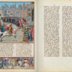 Libros de segunda mano: CRÓNICA DE LAS CRUZADAS (S. XV), FACSÍMIL + COMENTARIO. Lote 211929071