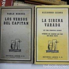 Libros de segunda mano: LOTE DE 18 LIBROS COLECCION EDITORIAL LOSADA.DIFERENTES EPOCAS Y 1ª Y 2ª EDICIONES B. AIRES.. Lote 211994708