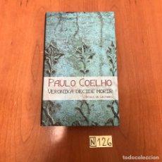Libros de segunda mano: VERONIKA DECIDE MORIR. Lote 212112012