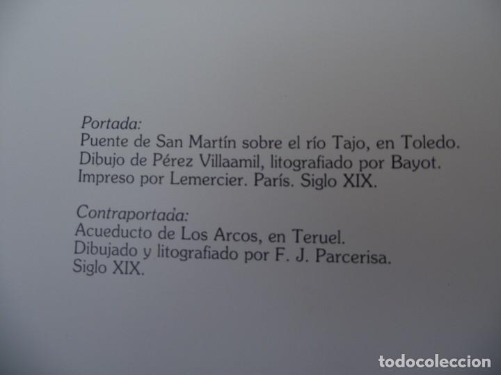 Libros de segunda mano: LA OBRA PUBLICA PATRIMONIO CULTURAL - CATALOGO EXPOSICIÓN MUSEO ARQUEOLÓGICO NACIONAL,1986 - Foto 8 - 212121108