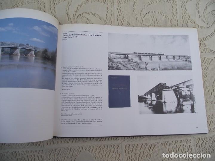 Libros de segunda mano: LA OBRA PUBLICA PATRIMONIO CULTURAL - CATALOGO EXPOSICIÓN MUSEO ARQUEOLÓGICO NACIONAL,1986 - Foto 18 - 212121108