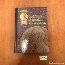 Libros de segunda mano: PIENSA MAL... ¿Y ACERTARAS ? MANCHA QUE LIMPIA. Lote 212135527