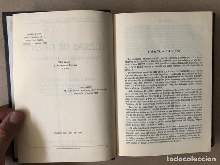 Libros de segunda mano: IGLESIAS DE ORIENTE (PUNTOS ESPECÍFICOS de SU TEOLOGÍA. ÁNGEL SANTOS HERNÁNDEZ. SAL TERRAE 1959 - Foto 4 - 212187347