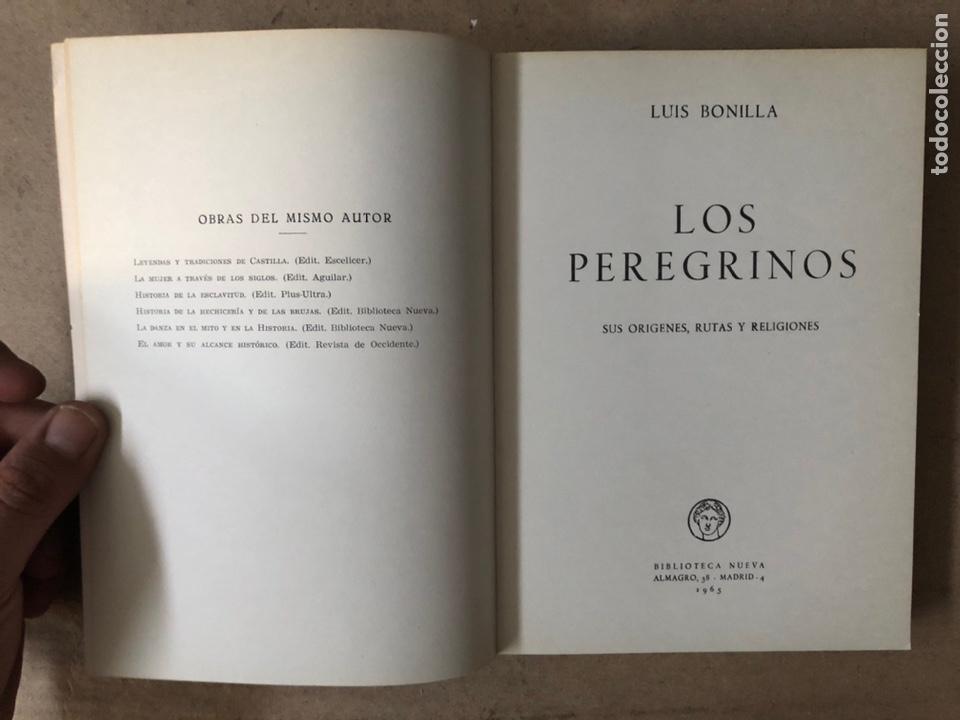 Libros de segunda mano: HISTORIA DE LAS PEREGRINACIONES (SUS ORÍGENES, RUTAS Y RELIGIONES). LUIS BONILLA. 1965. - Foto 2 - 212211843