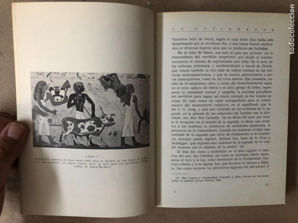 Libros de segunda mano: HISTORIA DE LAS PEREGRINACIONES (SUS ORÍGENES, RUTAS Y RELIGIONES). LUIS BONILLA. 1965. - Foto 4 - 212211843