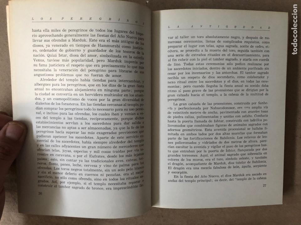 Libros de segunda mano: HISTORIA DE LAS PEREGRINACIONES (SUS ORÍGENES, RUTAS Y RELIGIONES). LUIS BONILLA. 1965. - Foto 5 - 212211843