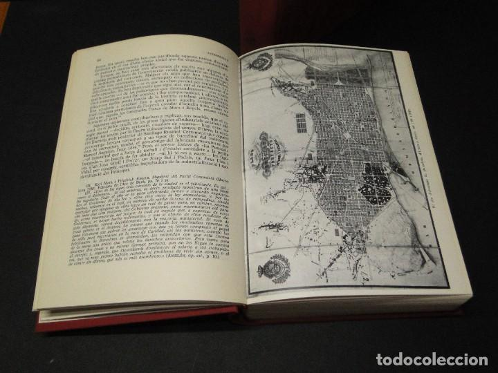 Libros de segunda mano: Barcelona a mitjan segle XIX.- (2 VOL. OBRA COMPLETA) .Josep Benet i Casimir Martí - Foto 4 - 212229190