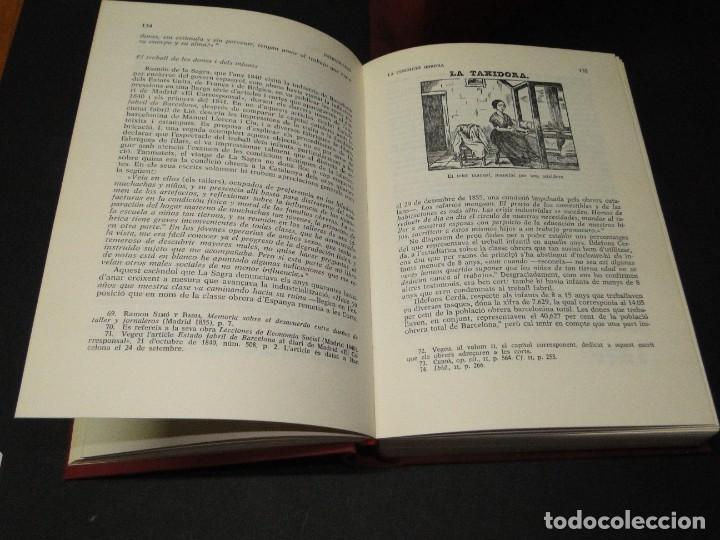 Libros de segunda mano: Barcelona a mitjan segle XIX.- (2 VOL. OBRA COMPLETA) .Josep Benet i Casimir Martí - Foto 5 - 212229190