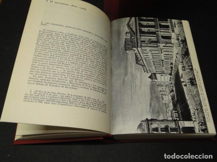 Libros de segunda mano: Barcelona a mitjan segle XIX.- (2 VOL. OBRA COMPLETA) .Josep Benet i Casimir Martí - Foto 6 - 212229190