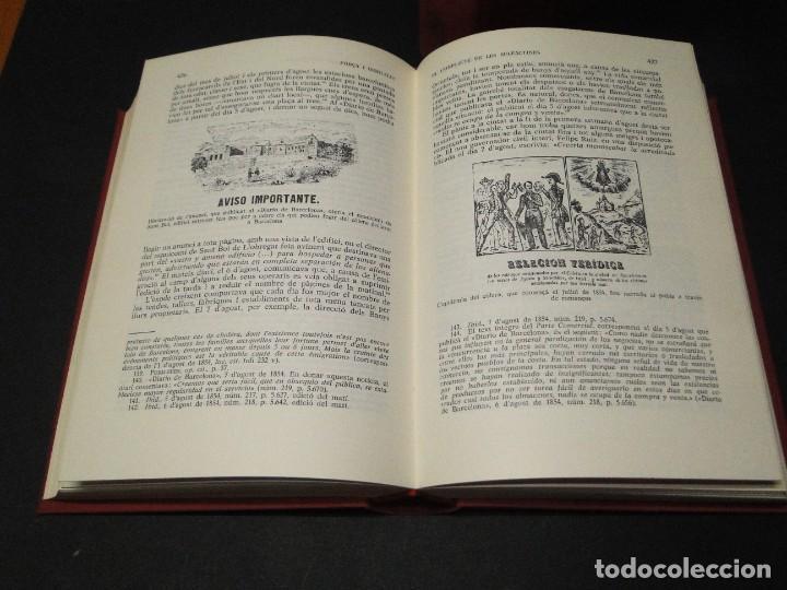 Libros de segunda mano: Barcelona a mitjan segle XIX.- (2 VOL. OBRA COMPLETA) .Josep Benet i Casimir Martí - Foto 7 - 212229190
