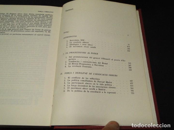 Libros de segunda mano: Barcelona a mitjan segle XIX.- (2 VOL. OBRA COMPLETA) .Josep Benet i Casimir Martí - Foto 9 - 212229190