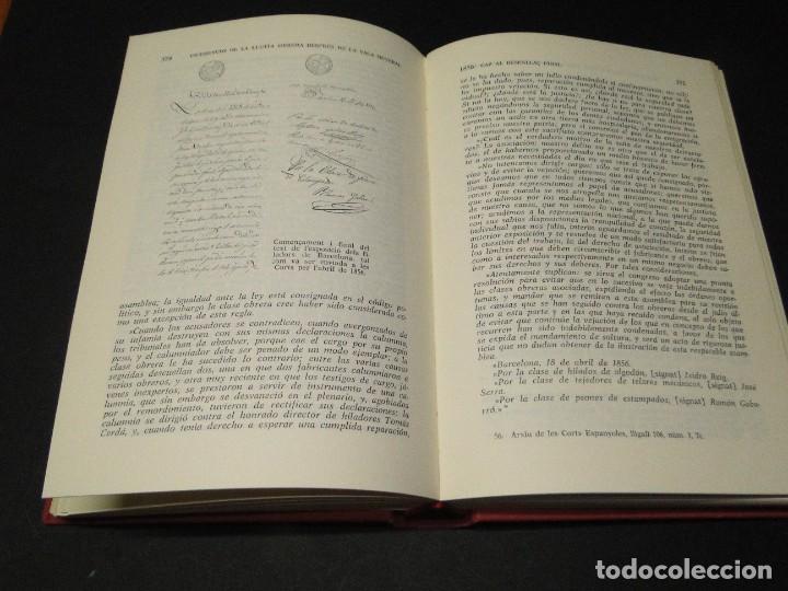 Libros de segunda mano: Barcelona a mitjan segle XIX.- (2 VOL. OBRA COMPLETA) .Josep Benet i Casimir Martí - Foto 14 - 212229190