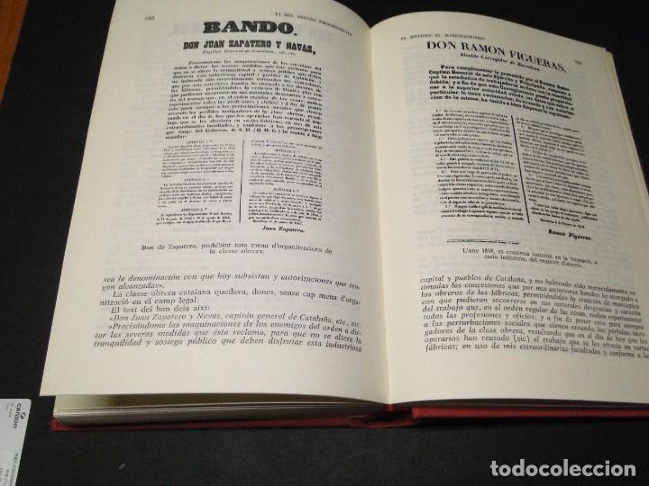 Libros de segunda mano: Barcelona a mitjan segle XIX.- (2 VOL. OBRA COMPLETA) .Josep Benet i Casimir Martí - Foto 16 - 212229190