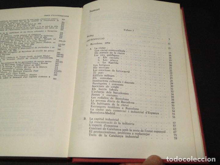 Libros de segunda mano: Barcelona a mitjan segle XIX.- (2 VOL. OBRA COMPLETA) .Josep Benet i Casimir Martí - Foto 17 - 212229190