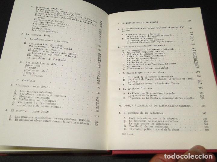 Libros de segunda mano: Barcelona a mitjan segle XIX.- (2 VOL. OBRA COMPLETA) .Josep Benet i Casimir Martí - Foto 18 - 212229190