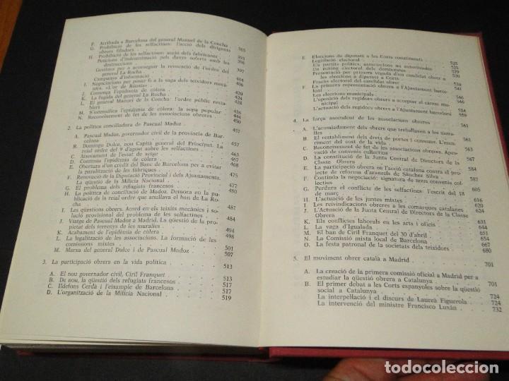 Libros de segunda mano: Barcelona a mitjan segle XIX.- (2 VOL. OBRA COMPLETA) .Josep Benet i Casimir Martí - Foto 19 - 212229190