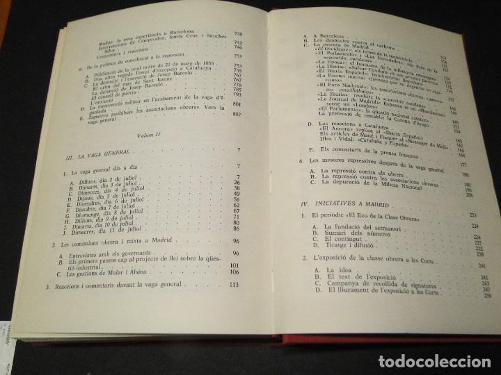 Libros de segunda mano: Barcelona a mitjan segle XIX.- (2 VOL. OBRA COMPLETA) .Josep Benet i Casimir Martí - Foto 20 - 212229190