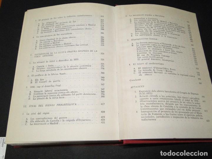 Libros de segunda mano: Barcelona a mitjan segle XIX.- (2 VOL. OBRA COMPLETA) .Josep Benet i Casimir Martí - Foto 21 - 212229190