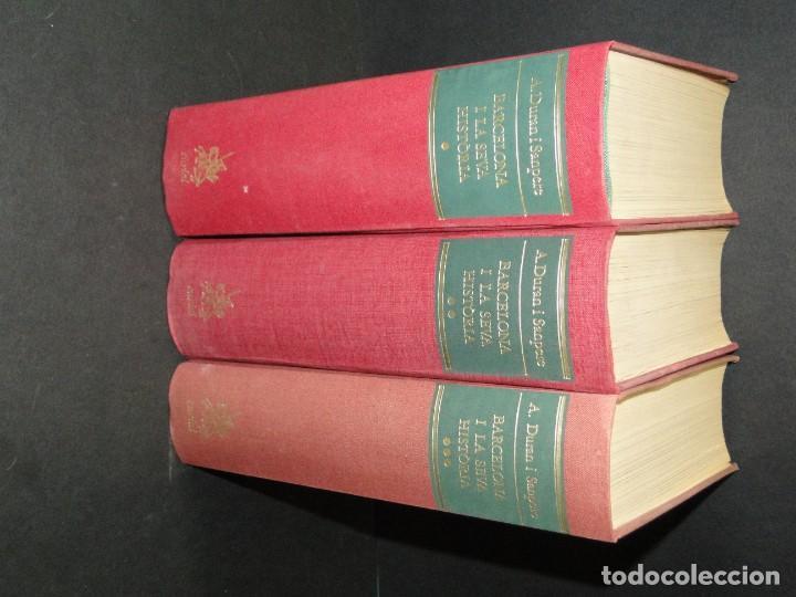 Libros de segunda mano: BARCELONA I LA SEVA HISTORIA . ( 3 Vol. OBRA COMPLETA).DURAN SANPERE, AGUSTI - Foto 2 - 212229473