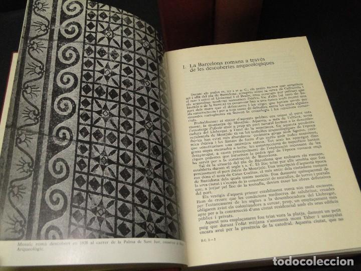 Libros de segunda mano: BARCELONA I LA SEVA HISTORIA . ( 3 Vol. OBRA COMPLETA).DURAN SANPERE, AGUSTI - Foto 4 - 212229473