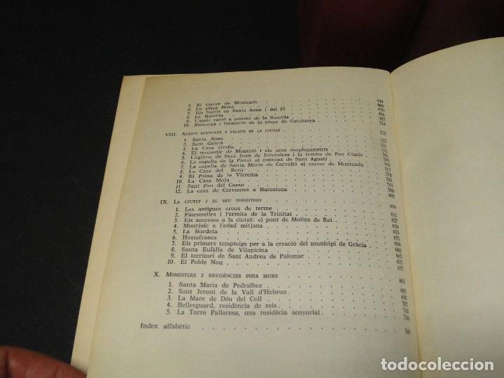 Libros de segunda mano: BARCELONA I LA SEVA HISTORIA . ( 3 Vol. OBRA COMPLETA).DURAN SANPERE, AGUSTI - Foto 13 - 212229473