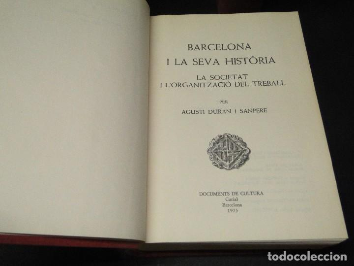 Libros de segunda mano: BARCELONA I LA SEVA HISTORIA . ( 3 Vol. OBRA COMPLETA).DURAN SANPERE, AGUSTI - Foto 14 - 212229473