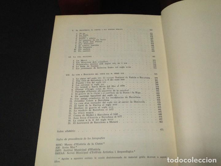 Libros de segunda mano: BARCELONA I LA SEVA HISTORIA . ( 3 Vol. OBRA COMPLETA).DURAN SANPERE, AGUSTI - Foto 21 - 212229473