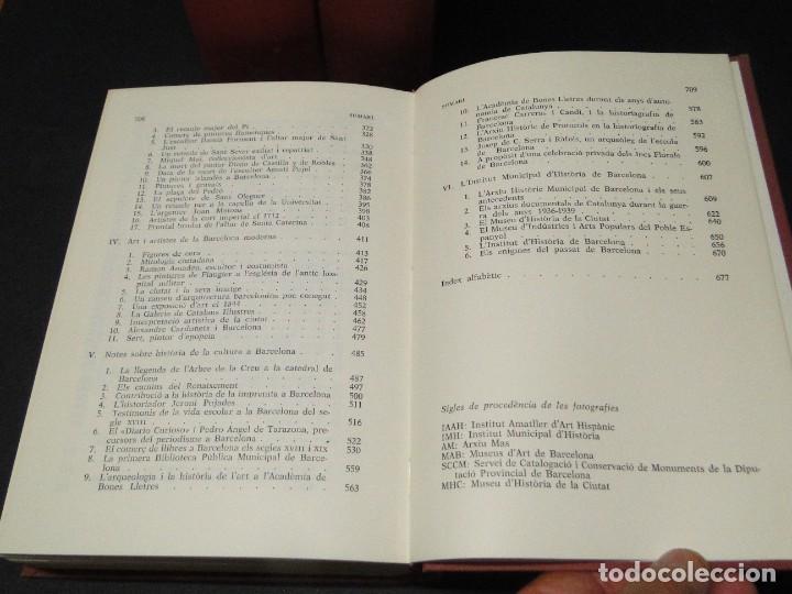 Libros de segunda mano: BARCELONA I LA SEVA HISTORIA . ( 3 Vol. OBRA COMPLETA).DURAN SANPERE, AGUSTI - Foto 32 - 212229473