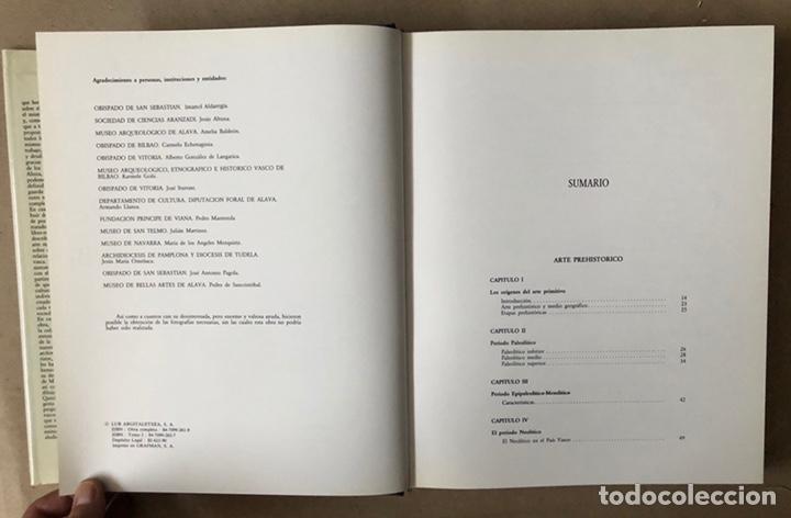 Libros de segunda mano: NOSOTROS LOS VASCOS; ARTE. 5 TOMOS (OBRA COMPLETA). LUR ARGITALETXEA 1990. - Foto 7 - 212291110
