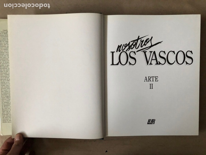 Libros de segunda mano: NOSOTROS LOS VASCOS; ARTE. 5 TOMOS (OBRA COMPLETA). LUR ARGITALETXEA 1990. - Foto 18 - 212291110