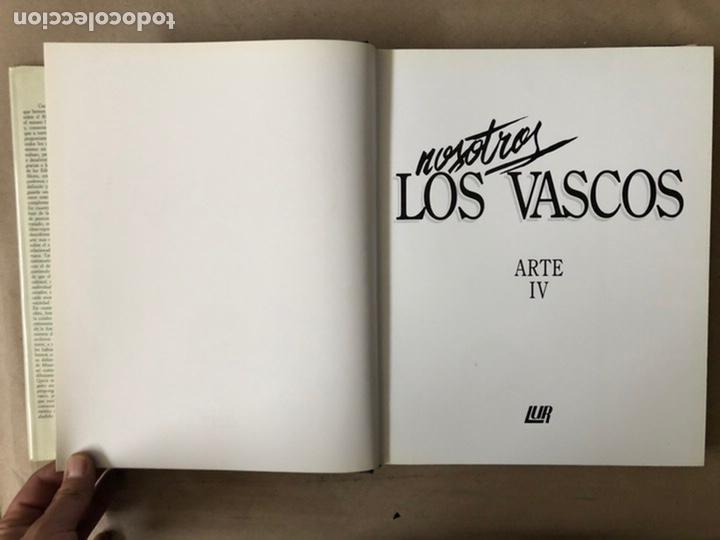 Libros de segunda mano: NOSOTROS LOS VASCOS; ARTE. 5 TOMOS (OBRA COMPLETA). LUR ARGITALETXEA 1990. - Foto 46 - 212291110