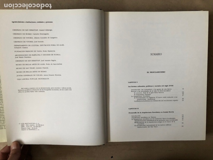Libros de segunda mano: NOSOTROS LOS VASCOS; ARTE. 5 TOMOS (OBRA COMPLETA). LUR ARGITALETXEA 1990. - Foto 48 - 212291110