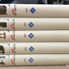 Libros de segunda mano: NOSOTROS LOS VASCOS; ARTE. 5 TOMOS (OBRA COMPLETA). LUR ARGITALETXEA 1990.. Lote 212291110