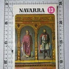 Libros de segunda mano: NAVARRA Y LAS CRUZADAS. TEMAS DE CULTURA POPULAR Nº 13.. Lote 212346781