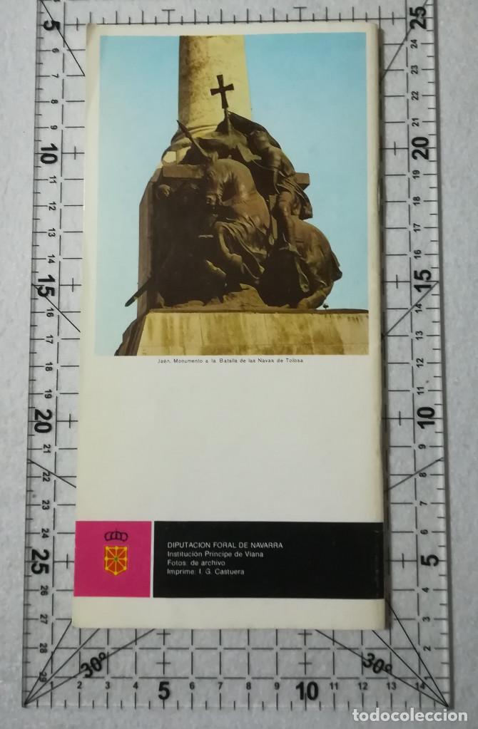 Libros de segunda mano: NAVARRA Y LAS CRUZADAS. TEMAS DE CULTURA POPULAR Nº 13. - Foto 2 - 212346781