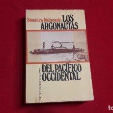 Livros em segunda mão: LOS ARGONAUTAS DEL PACIFICO OCCIDENTAL. BRONISLAW MALINOWSKI.. Lote 212359180