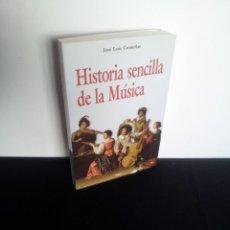 Libros de segunda mano: JOSE LUIS COMELLAS - HISTORIA SENCILLA DE LA MUSICA - EDICIONES RIALP 2008. Lote 212476738