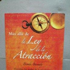 Libros de segunda mano: LIBRO LA, LEY DE LA ATRACCIÓN. Lote 212531330
