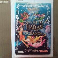 Libros de segunda mano: LIBRO EL SECRETO DE LAS HADAS DE LOS OCEANOS - TEA STILTON. Lote 212605326