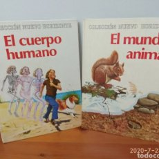 Libros de segunda mano: EL MUNDO ANIMAL / EL CUERPO HUMANO. Lote 212672571